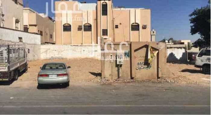 أرض للبيع في شارع الجبرتي ، حي بدر ، الرياض