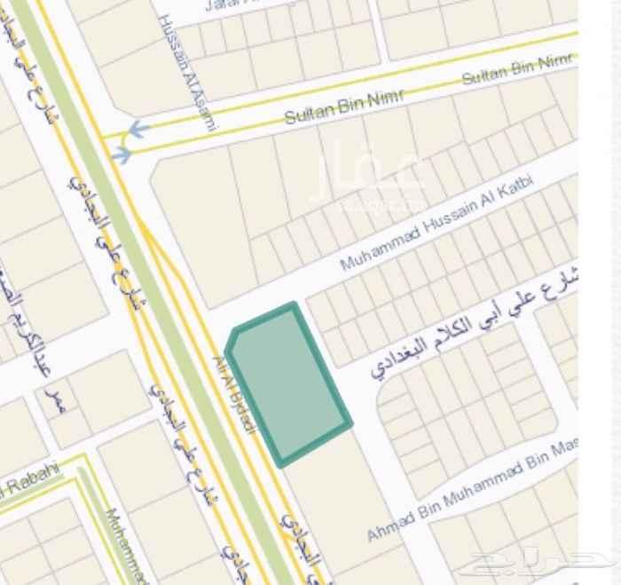 أرض للإيجار في شارع علي البجادي, الرمال, الرياض
