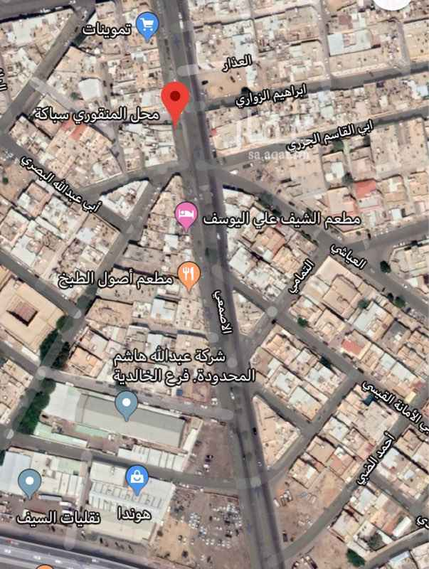 أرض للبيع في شارع الاصمعي ، حي الخالدية ، الرياض