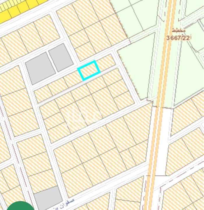 أرض للإيجار في حي مطار الملك خالد الدولي ، الرياض ، الرياض