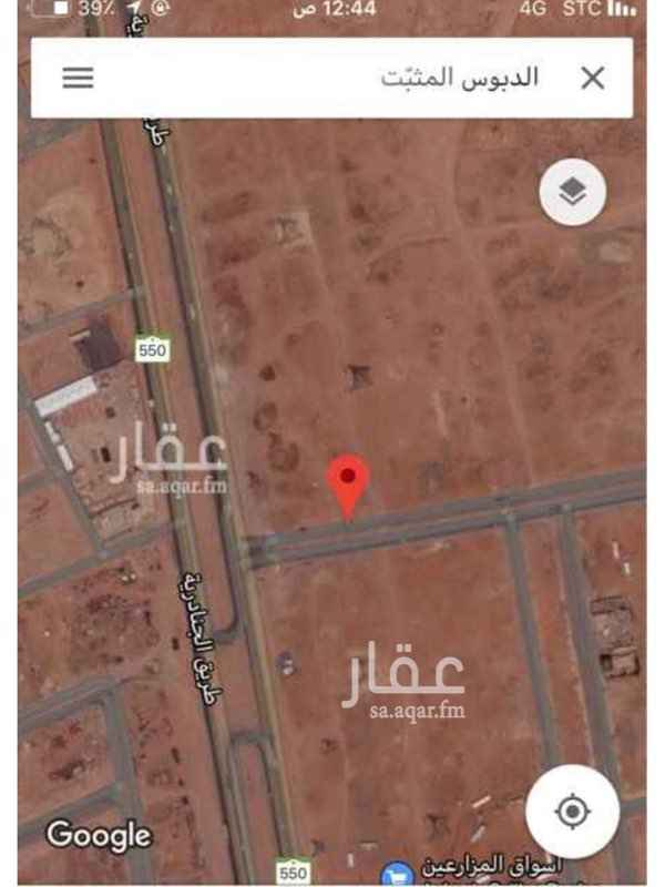 أرض للإيجار في حي الشرق ، الرياض ، رماح