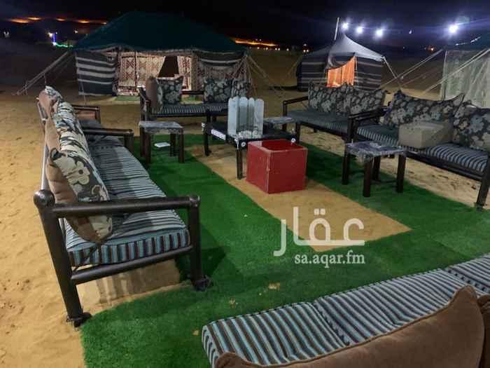 مخيم للإيجار في شارع تقاطع الطوقي مع الثمامة غرب ، حريملاء