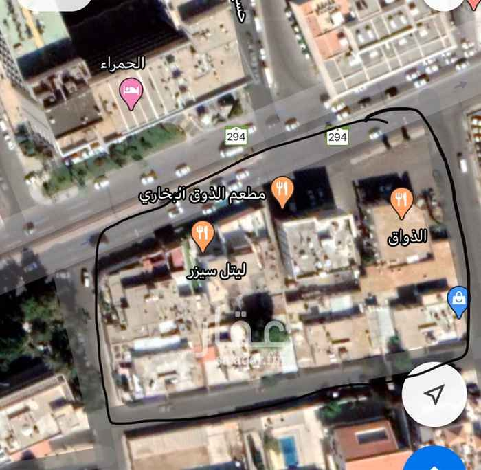 أرض للبيع في شارع نور السراج ، حي الرويس ، جدة ، جدة