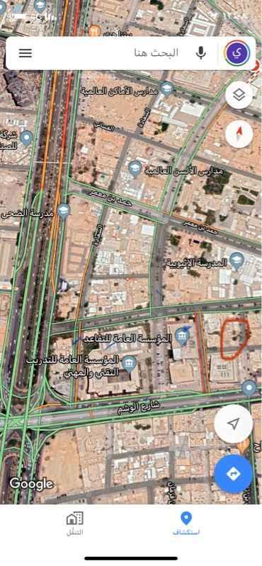 أرض للبيع في المربع, الرياض