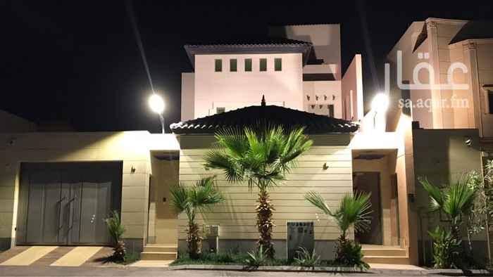 فيلا للبيع في شارع الحرفين ، حي هجرة لبن ، الرياض
