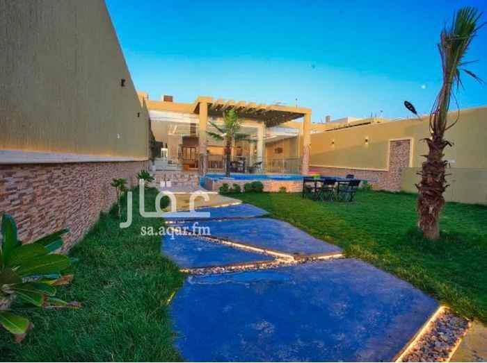 استراحة للإيجار في شارع وادي الساحل ، حي الرمال ، الرياض ، الرياض