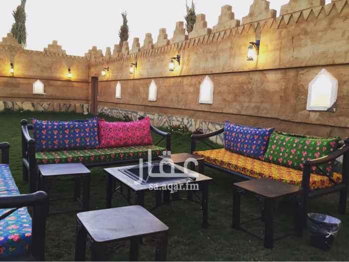 استراحة للإيجار في شارع العمارية ، حي القيروان ، الرياض