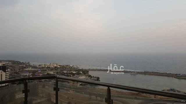 شقة للإيجار في شارع الامير فيصل بن فهد ، حي الشاطئ ، جدة