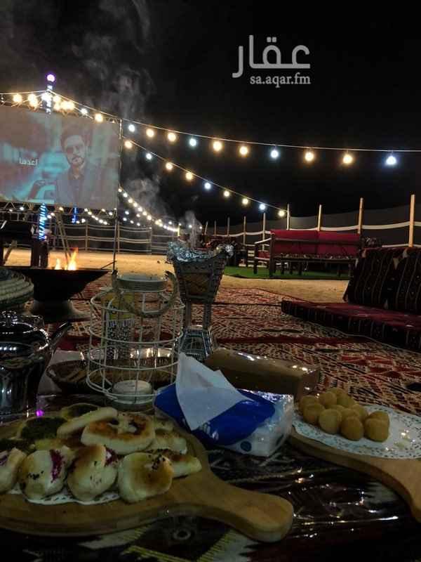مخيم للإيجار في شارع دلة ، حي الرحاب ، جدة ، جدة