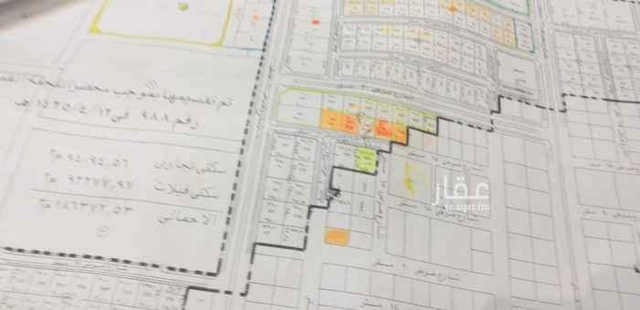 أرض للبيع في شارع احمد بن قطرب ، حي العقيق ، الرياض