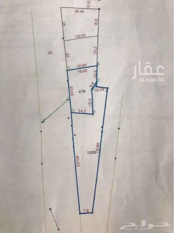 أرض للإيجار في حي الدوحة ، خميس مشيط ، خميس مشيط