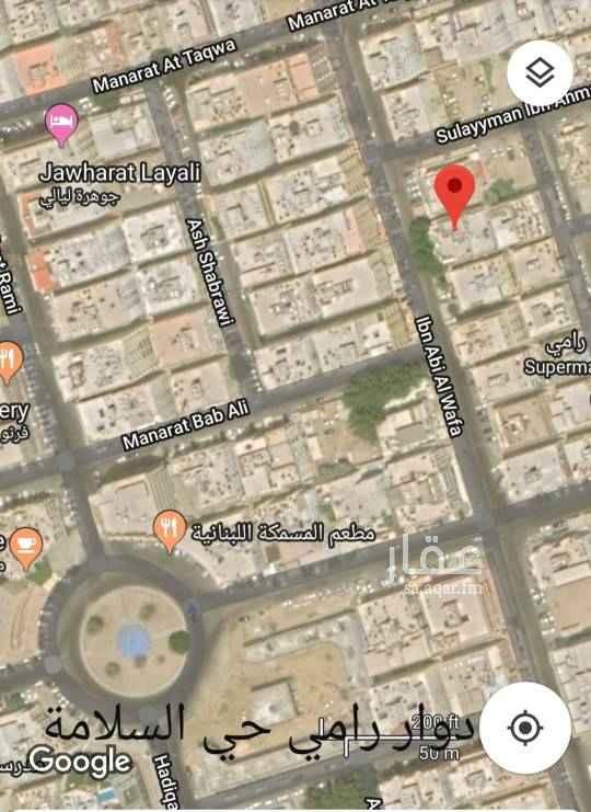 عمارة للإيجار في شارع ابن ابي الوفاء ، حي السلامة ، جدة