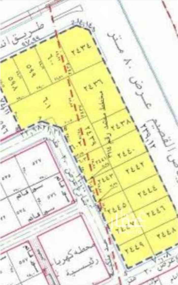 أرض للبيع في شارع الراجحي ، حي الفيصلية - الدرعية ، الرياض ، الرياض