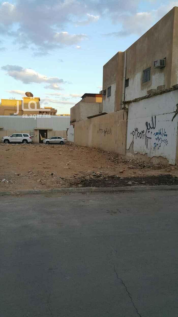 أرض للبيع في شارع شريح الحضرمي ، حي الوشام ، الرياض ، الرياض