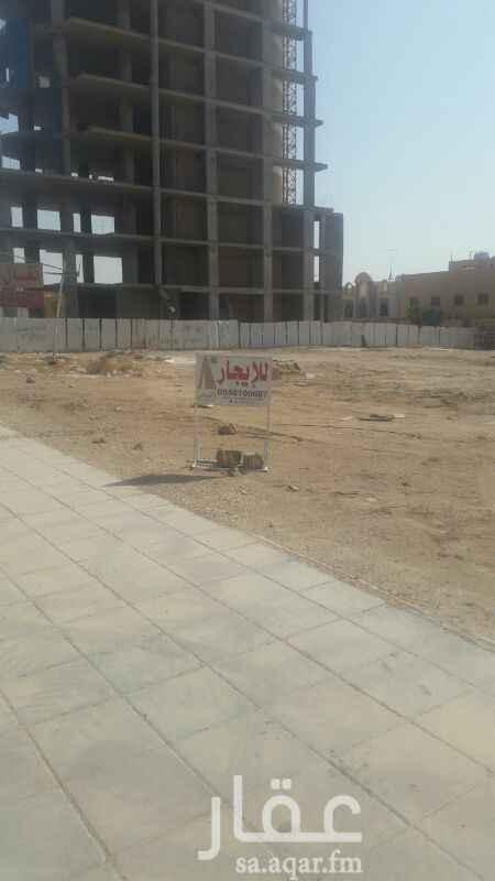 أرض للإيجار في طريق الملك فهد الفرعي ، حي النخيل ، الرياض