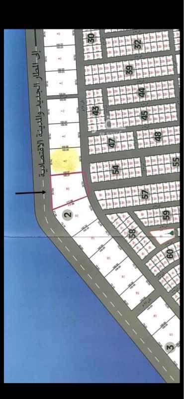 أرض للبيع في طريق الكورنيش ، حي الشاطيء ، جازان ، جزان