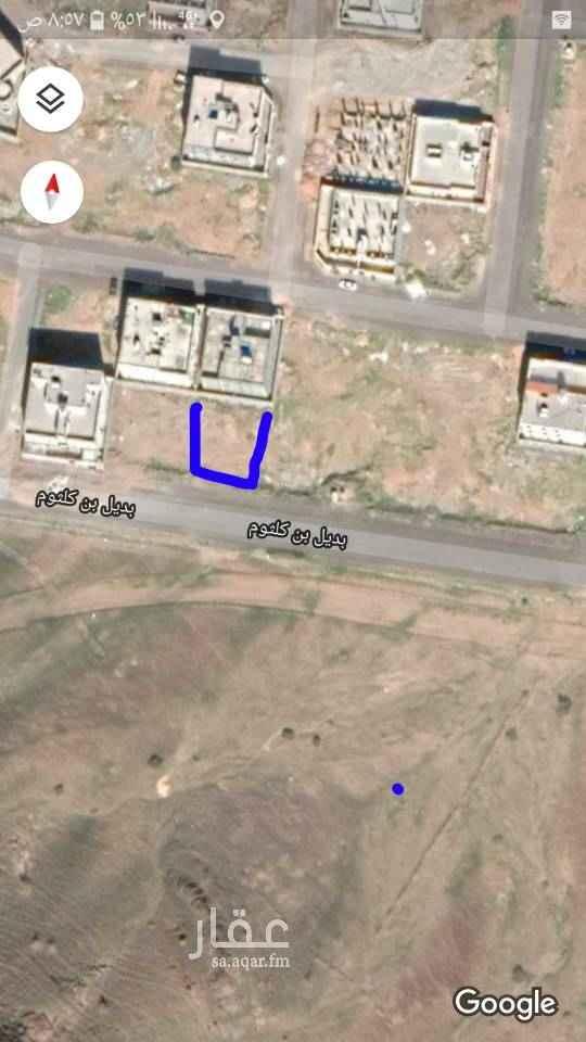 أرض للبيع في شارع بديل بن كلثوم ، المدينة المنورة