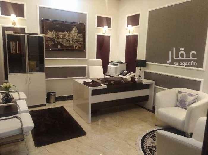 مكتب تجاري للإيجار في شارع حوطة بني تميم ، حي العليا ، الرياض