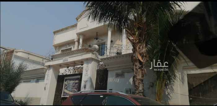 فيلا للإيجار في شارع حذيفة بن اليمان ، حي الشاطئ ، جدة