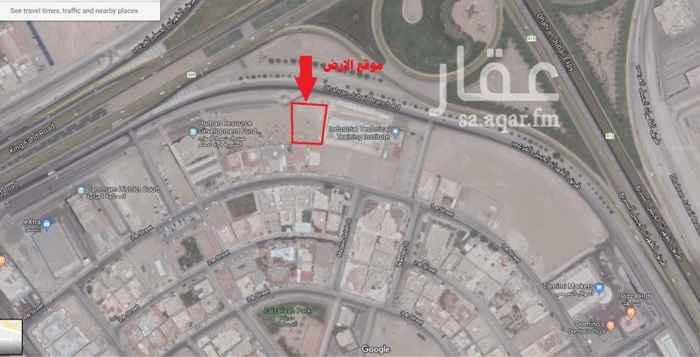أرض للإيجار في طريق الملك فهد بن عبد العزيز ، حي الفيصلية ، الدمام