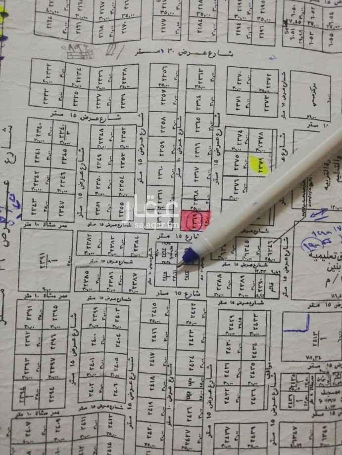أرض للبيع في شارع رقم 384 ، الرياض ، الرياض