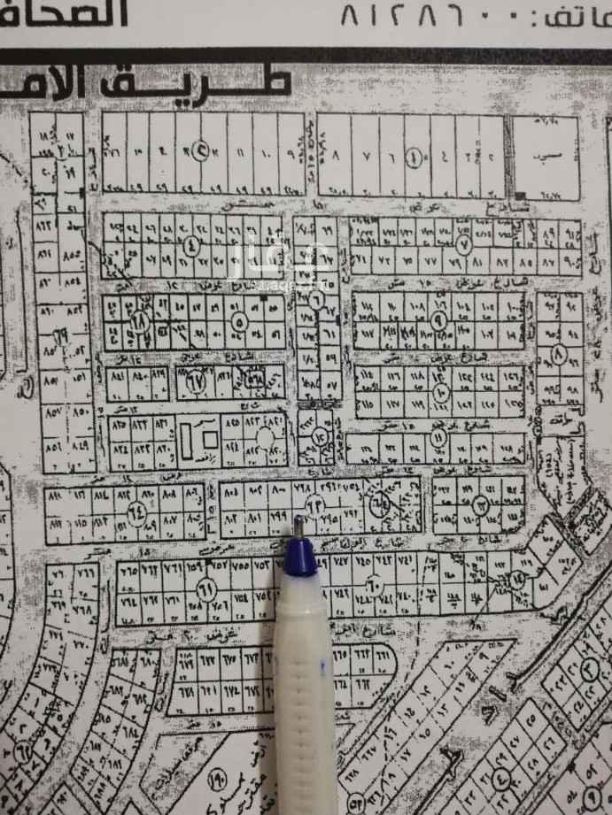 أرض للبيع في شارع الجبل الابيض ، حي الصحافة ، الرياض