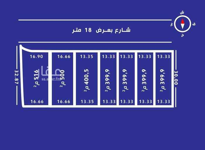 أرض للبيع في شارع ابها ، حي الملقا ، الرياض ، الرياض