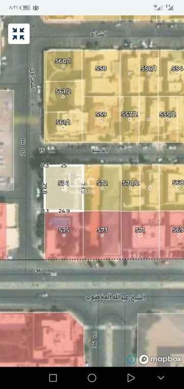 أرض للبيع في شارع الشيوخ ، حي الفلاح ، الرياض ، الرياض