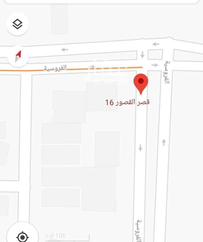 أرض للإيجار في شارع الفروسية ، حي ظهرة لبن ، الرياض ، الرياض