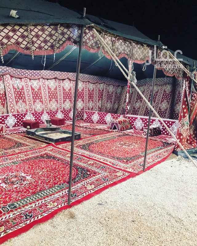 مخيم للإيجار في طريق الملك فهد ، حي بنبان ، الرياض ، الرياض