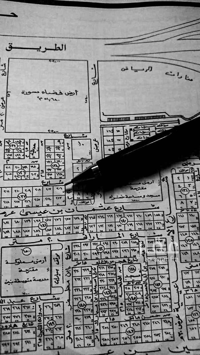 أرض للبيع في شارع يزيد بن مالك ، حي الازدهار ، الرياض