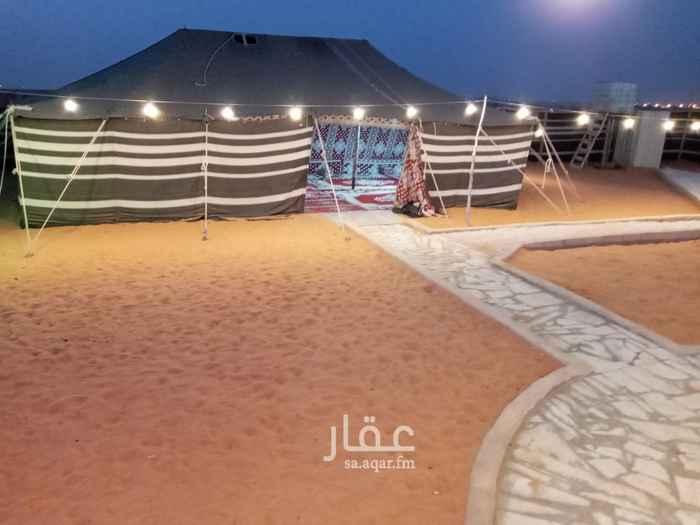 مخيم للإيجار في طريق الجنادرية ، حي الرمال ، الرياض ، الرياض