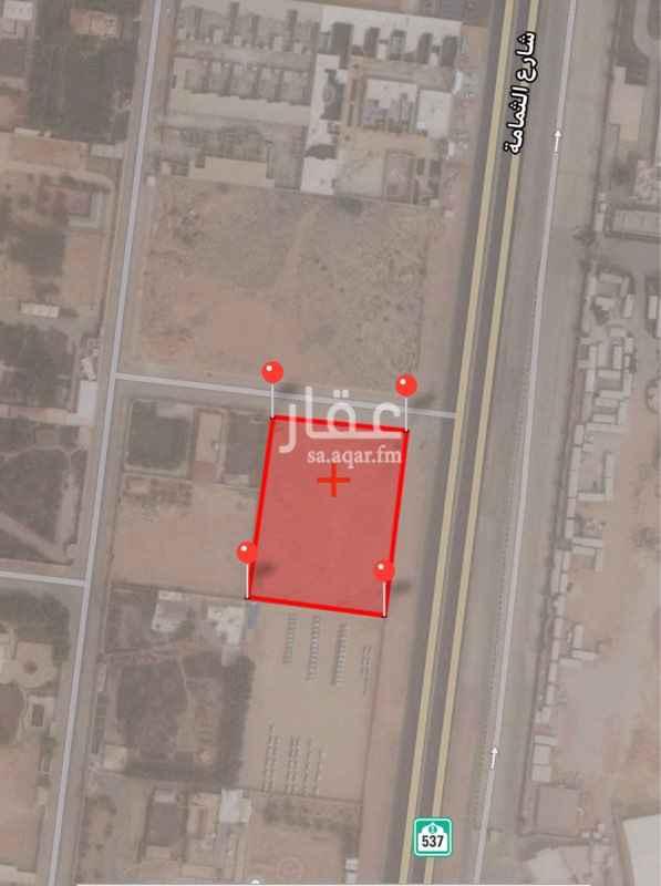 أرض للإيجار في طريق الثمامة ، حي مطار الملك خالد ، الرياض