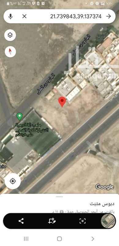 أرض للإيجار في شارع الجارود بن المعلى ، حي ابحر الجنوبية ، جدة ، جدة
