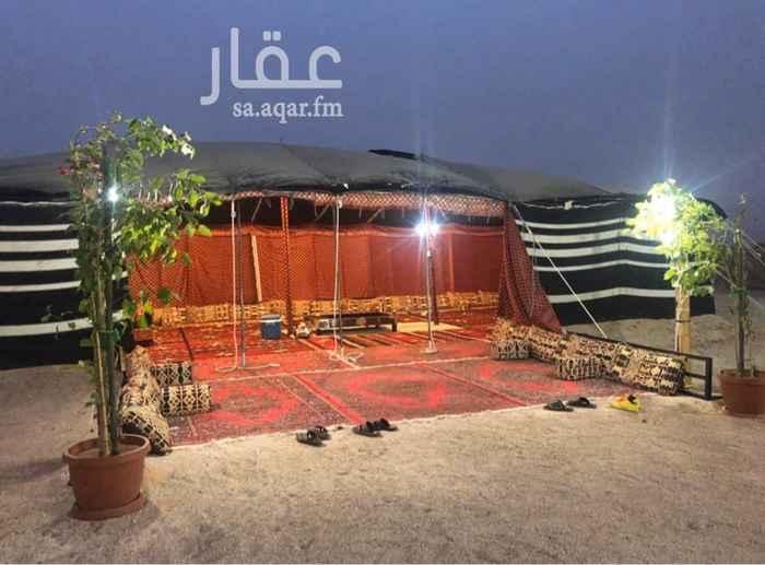 مخيم للإيجار في حي بنبان ، الرياض