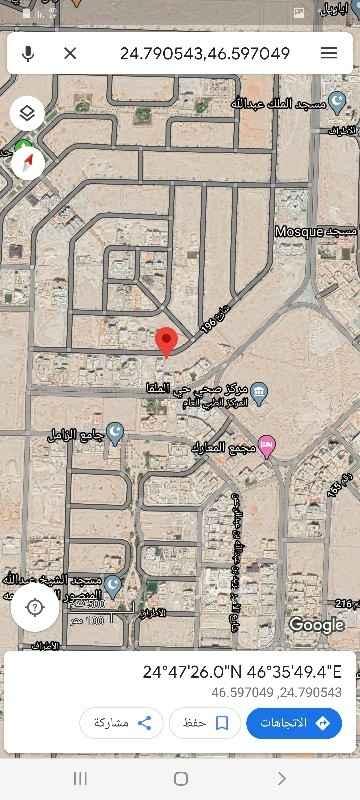 أرض للبيع في شارع الاشعاب ، حي الملقا ، الرياض ، الرياض