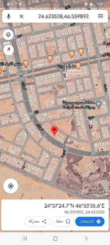 أرض للبيع في شارع رامة ، حي ظهرة لبن ، الرياض ، الرياض