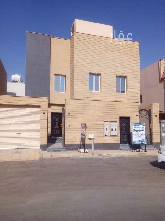 فيلا للبيع في شارع بديعة ، حي الصحافة ، الرياض