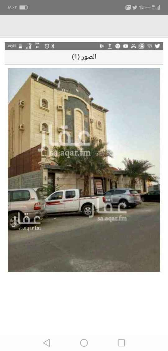شقة للإيجار في شارع عبادة بن الصامت ، جازان ، جزان