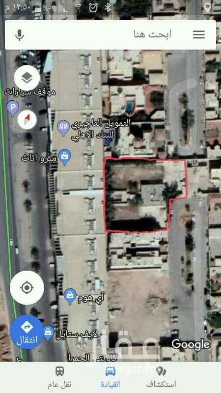 استراحة للبيع في شارع الكوثر ، حي الحمراء ، الرياض