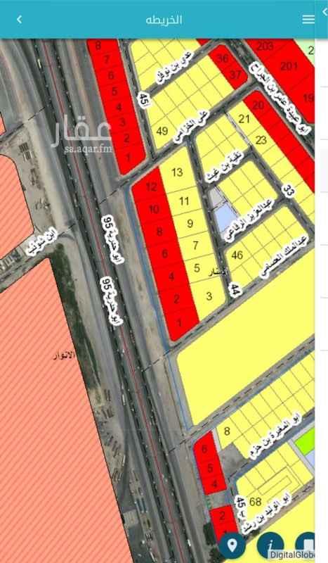 أرض للبيع في شارع بن ابي حليم ، حي المنار ، الدمام