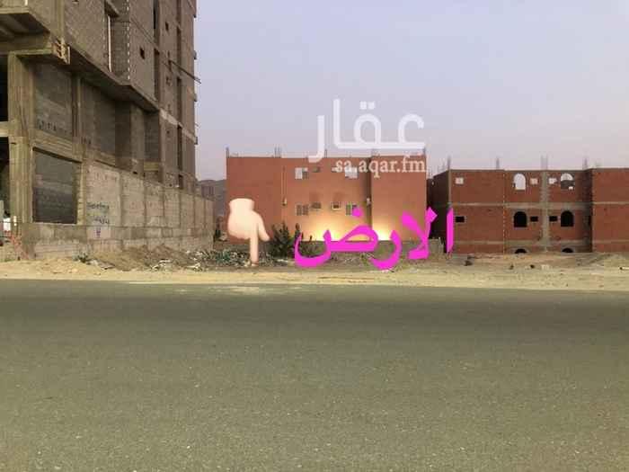 أرض للإيجار في شارع يزيد بن الأسود ، حي ولي العهد ، مكة المكرمة
