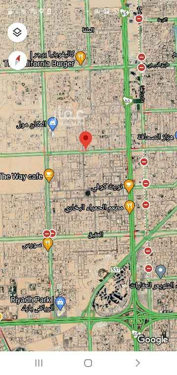 أرض للبيع في طريق الامام سعود بن فيصل الفرعي ، حي الصحافة ، الرياض ، الرياض
