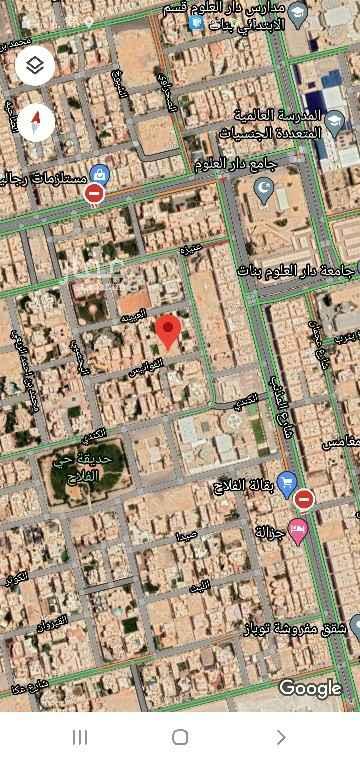 أرض للبيع في شارع الفوانيس ، حي الفلاح ، الرياض ، الرياض