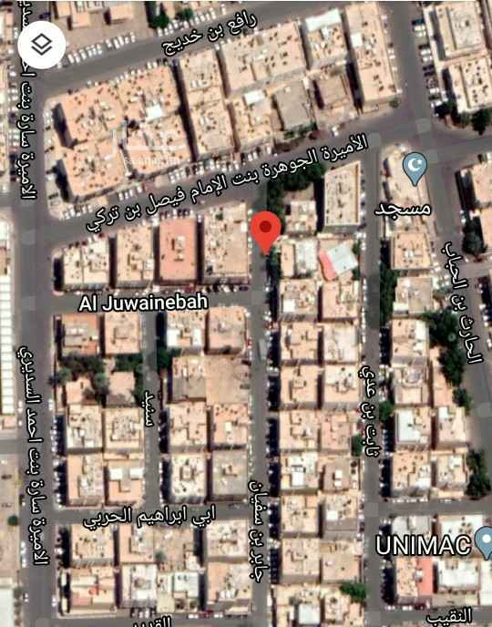 أرض للبيع في شارع جابر بن سفيان ، حي الضباط ، الرياض ، الرياض