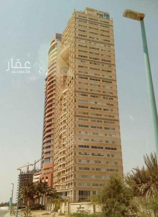 شقة للبيع في برج ديآر البحر ، طريق الكورنيش ، حي الشاطئ ، جدة ، جدة