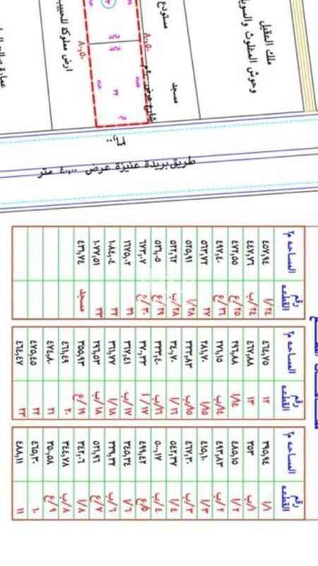 أرض للبيع في طريق الملك عبد العزيز ، حي السالمية ، بريدة ، بريدة