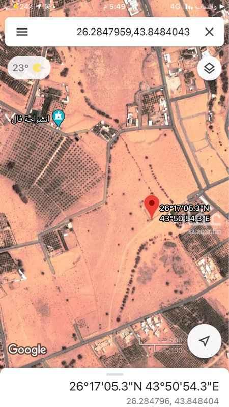 مزرعة للبيع في حي البصر ، بريدة ، بريدة
