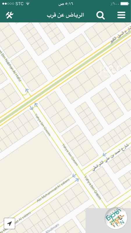 أرض للبيع في شارع يحيى بن القاسم ، حي المهدية ، الرياض ، الرياض