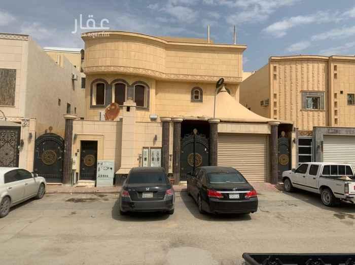 بيت للبيع في حي ، شارع الاحزم ، حي عكاظ ، الرياض